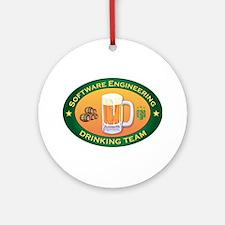 Software Engineering Team Ornament (Round)