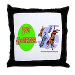 Pet Hoarder Throw Pillow