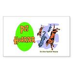 Pet Hoarder Rectangle Sticker