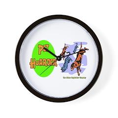 Pet Hoarder Wall Clock