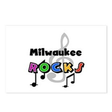 Milwaukee Rocks Postcards (Package of 8)
