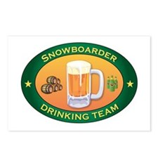 Snowboarder Team Postcards (Package of 8)