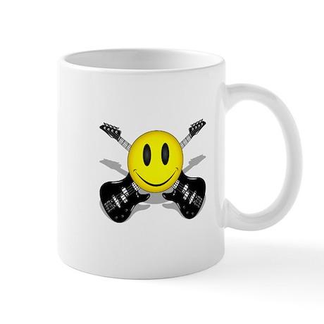 Music Smiley Mug