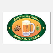 Shuffleboard Team Postcards (Package of 8)