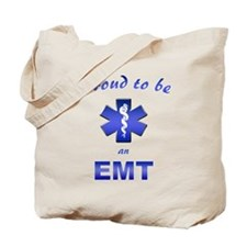 Proud To Be An EMT Tote Bag