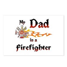 My Dad Is A Firefighter Postcards (Package of 8)
