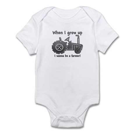 Grow Up Farmer Infant Bodysuit