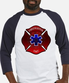 FIREFIGHTER-EMT Baseball Jersey