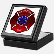 FIREFIGHTER-EMT Keepsake Box