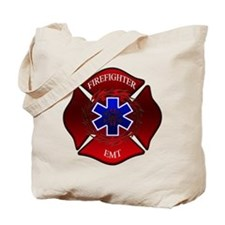 FIREFIGHTER-EMT Tote Bag