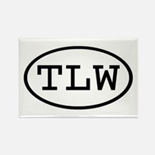 TLW Oval Rectangle Magnet