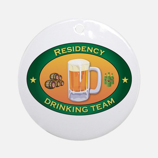 Residency Team Ornament (Round)