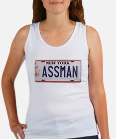 Seinfeld - Assman License Plate Women's Tank Top