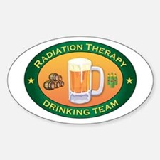 Radiation Therapy Team Oval Decal
