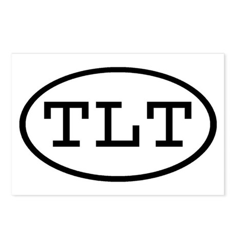 TLT Oval Postcards (Package of 8)