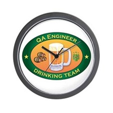 QA Engineer Team Wall Clock