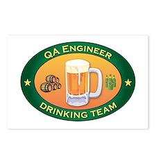 QA Engineer Team Postcards (Package of 8)