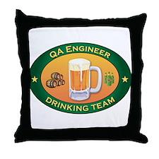 QA Engineer Team Throw Pillow