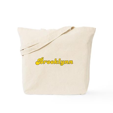Retro Brooklynn (Gold) Tote Bag