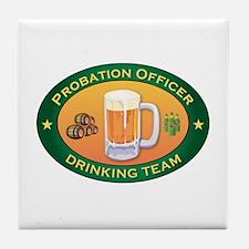 Probation Officer Team Tile Coaster