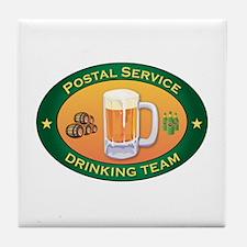 Postal Service Team Tile Coaster