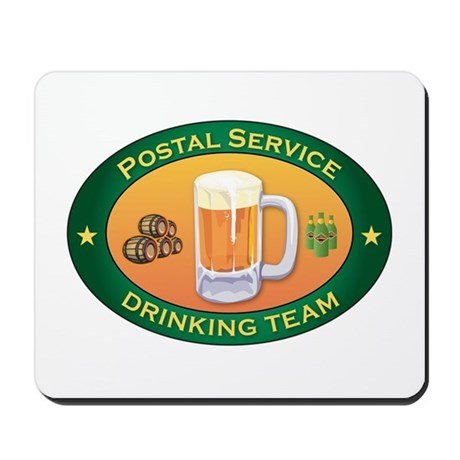 Postal Service Team Mousepad