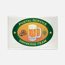 Postal Service Team Rectangle Magnet