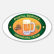 Postal Service Team Oval Decal
