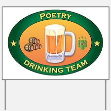 Poetry Team Yard Sign