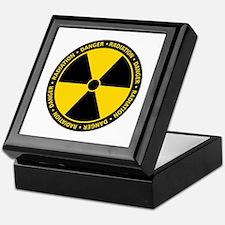 Radiation Warning Keepsake Box