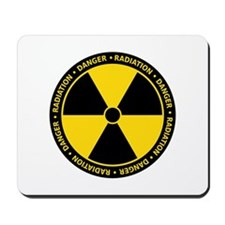 Radiation Warning Mousepad