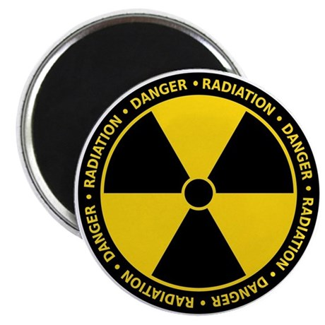 Radiation Warning Magnet