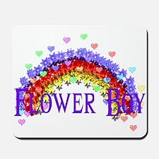 Wedding Flower Boy Mousepad