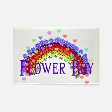 Wedding Flower Boy Rectangle Magnet