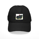 Black Frizzle Cochins2 Black Cap