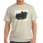 Black Frizzle Cochins2 Light T-Shirt