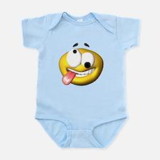 Crazy Emoticon Infant Bodysuit