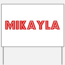 Retro Mikayla (Red) Yard Sign