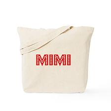Retro Mimi (Red) Tote Bag
