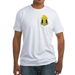 128th Infantry Regiment <BR>Fitted T-Shirt