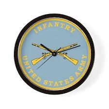 U S Army Infantry <BR>Wall Clock