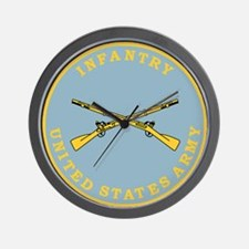 U S Army Infantry <BR>Wall Clock