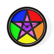Gay Pagan Wall Clock