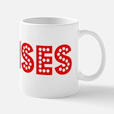 Retro Moises (Red) Mug