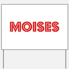 Retro Moises (Red) Yard Sign