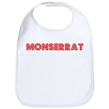 Retro Monserrat (Red) Bib