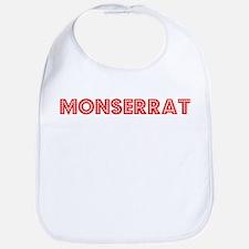 Retro Monserrat (Red) Bib