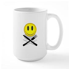 Hungry Happy Face Mug