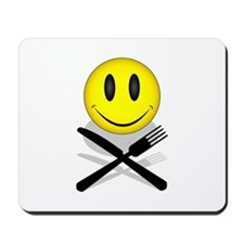 Hungry Happy Face Mousepad