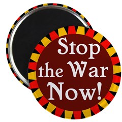 Stop the War Now Magnet